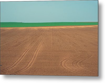Spring Fields Metal Print by Jenny Rainbow