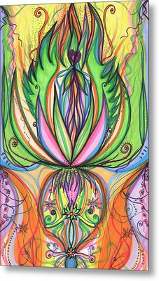 Spring Forward Metal Print by Daina White