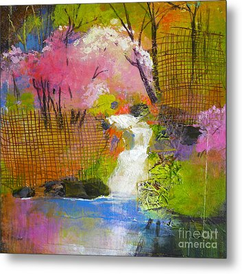 Spring Garden Metal Print by Melody Cleary