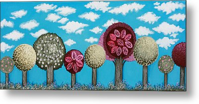 Spring Grove Metal Print by Graciela Bello