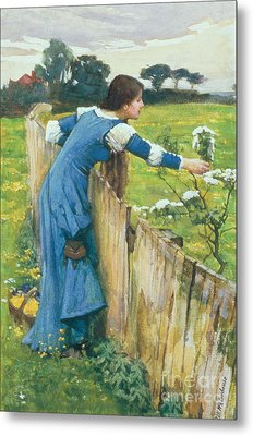 Spring Metal Print by John William Waterhouse