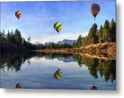 Spring Lake Metal Print by Ian Mitchell