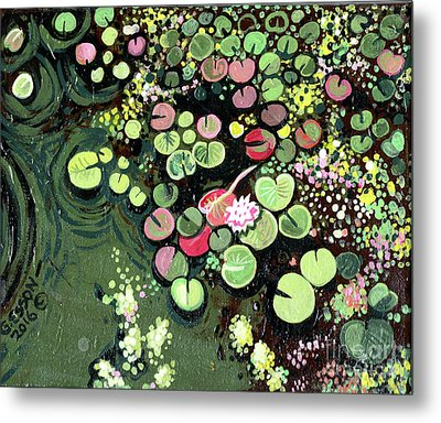 Spring Lily Metal Print by Genevieve Esson