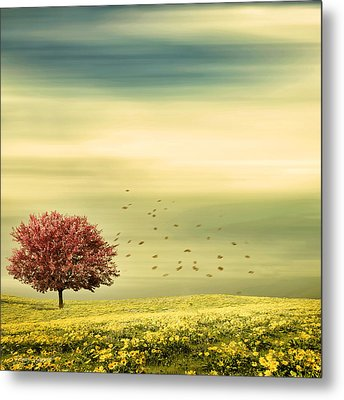 Spring Metal Print by Lourry Legarde