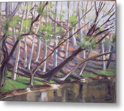 Spring, Monocacy Creek Metal Print by Grace Keown