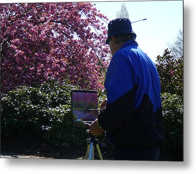 Spring Time Dunedin Nz Metal Print by Terry Perham