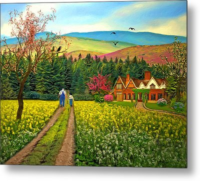 Spring Time In The Mountains Metal Print by Nina Bradica