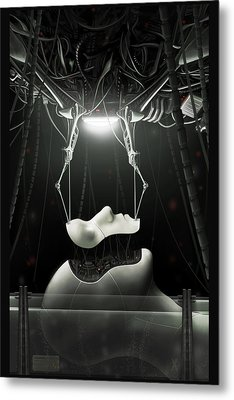 Spyrotek Dekonstrukt Metal Print by Martin Bland