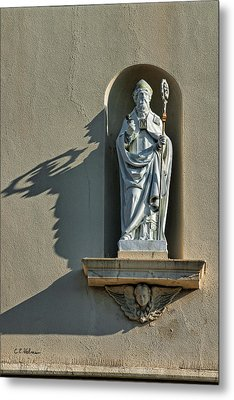 St. Augustine Of Hippo Metal Print by Christopher Holmes