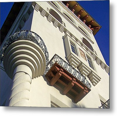 St. Augustine Spanish Colonial Ornate Metal Print by Patricia Taylor