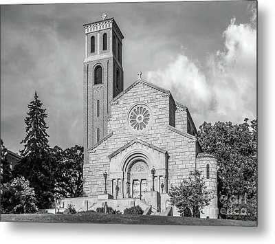 St. Catherine University Our Lady Of Victory Chapel Metal Print by University Icons