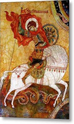 St George I Metal Print by Tanya Ilyakhova