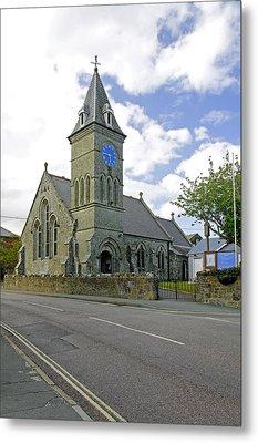 St John The Evangelist Church At Wroxall Metal Print by Rod Johnson