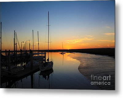 St. Mary's Sunset Metal Print by M Glisson