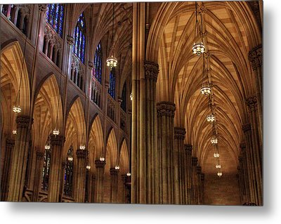 St. Patrick's Arches Metal Print by Jessica Jenney