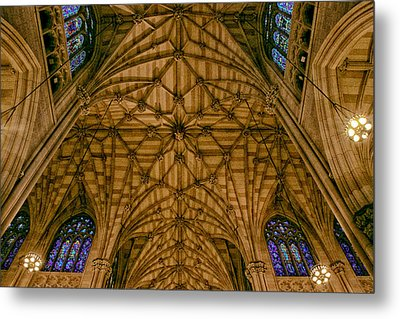 St. Patrick's Ceiling Metal Print by Jessica Jenney