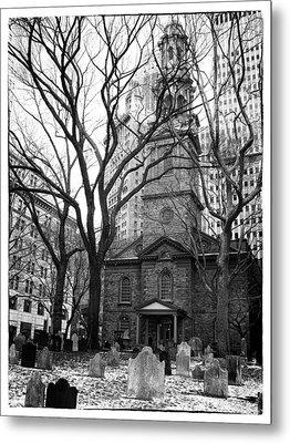 St. Paul's Chapel Metal Print by Jessica Jenney