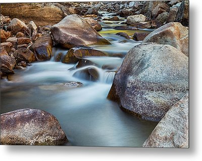 St Vrain Streaming Metal Print by James BO Insogna
