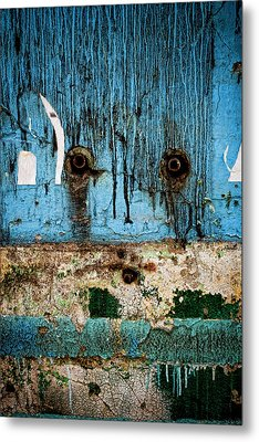 Stained And Weary Metal Print by Michelle Sheppard
