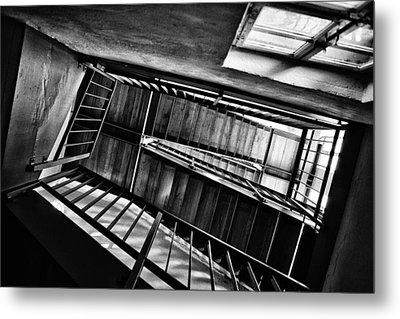 Staircase Metal Print by Nailia Schwarz