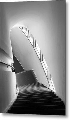 Stairs Metal Print by Liesbeth Van Der Werf