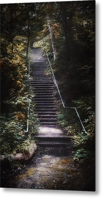 Stairway Metal Print by Scott Norris