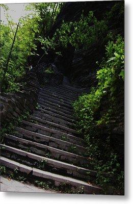 Stairway To Watkins 2 Metal Print by InTheSane DotCom
