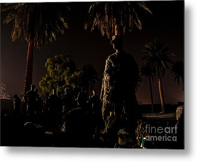 Stand By Metal Print by Liesl Marelli