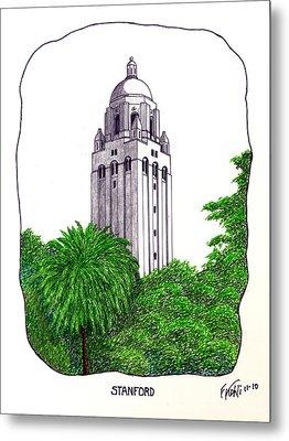 Stanford Metal Print by Frederic Kohli