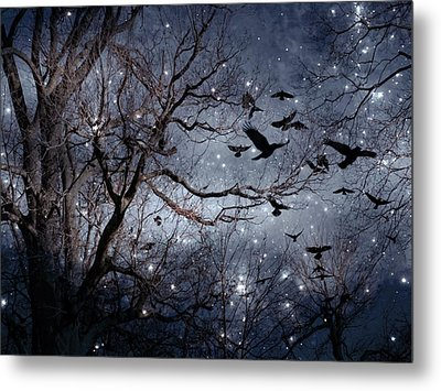 Star Filled Night Metal Print by Gothicrow Images