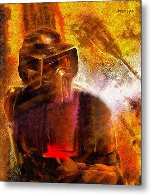 Star Wars Sabotage - Da Metal Print by Leonardo Digenio