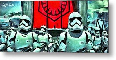 Star Wars The Emperor Metal Print by Leonardo Digenio