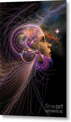 Starborn Metal Print by John Edwards