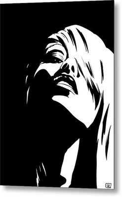 Stare Metal Print by Giuseppe Cristiano