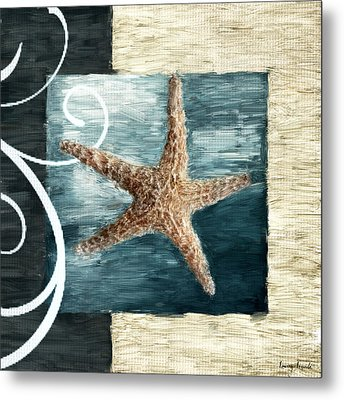 Starfish Spell Metal Print by Lourry Legarde