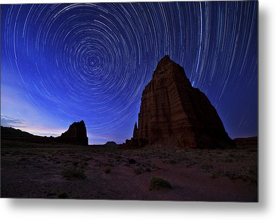 Stars Above The Moon Metal Print by Chad Dutson