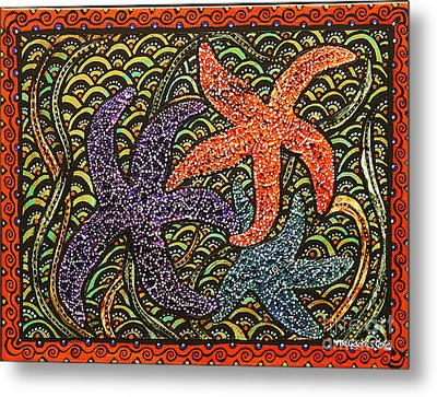 Stars And Stripes Metal Print by Melissa Cole