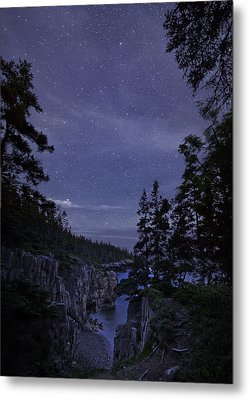 Stars Over Raven's Roost Metal Print by Brent L Ander