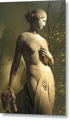 Statuesque Metal Print by Jessica Jenney