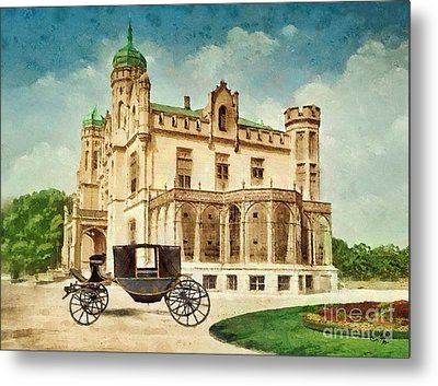 Stein Palace Metal Print by Mo T