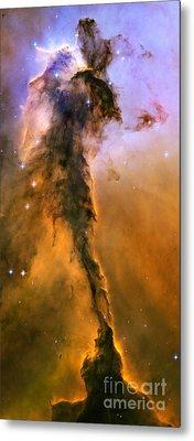 Stellar Spire In The Eagle Nebula Metal Print by Nicholas Burningham