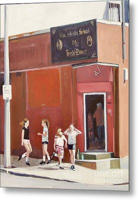 Stepping Out Metal Print by Deb Putnam