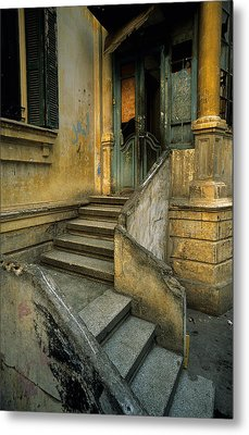 Steps. Metal Print by Tarek Charara