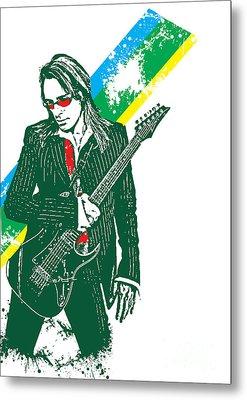 Steve Vai No.02 Metal Print by Unknow