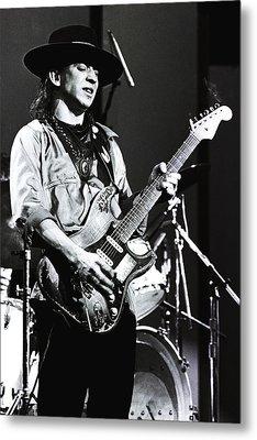 Stevie Ray Vaughan 1984  Metal Print by Chris Walter