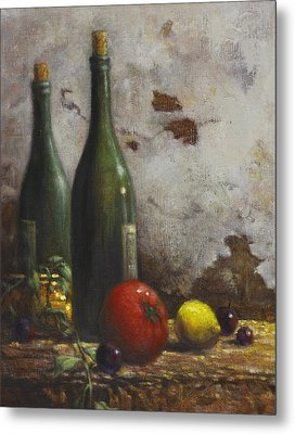 Still Life 3 Metal Print by Harvie Brown