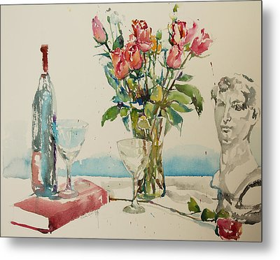 Still Life D2 Metal Print by Becky Kim