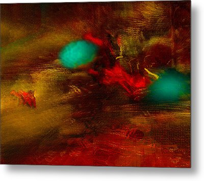 Still Life With Squiggles Metal Print by James MacColl