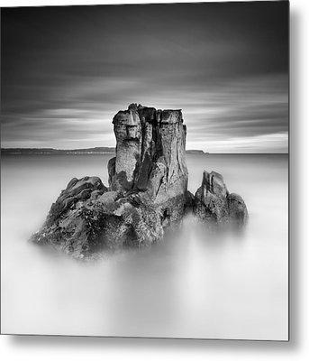 Stone Face Metal Print by Pawel Klarecki