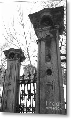 Stone Pillars Metal Print by Reb Frost